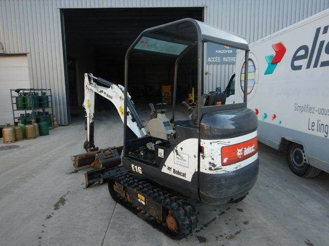 Bobcat E16, Mini digger, Construction Equipment