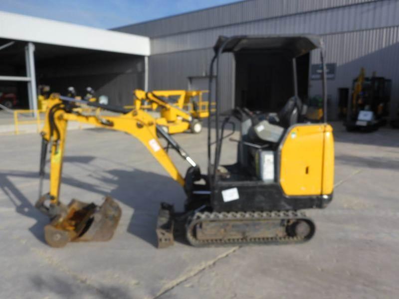Bobcat E17, Mini digger, Construction Equipment