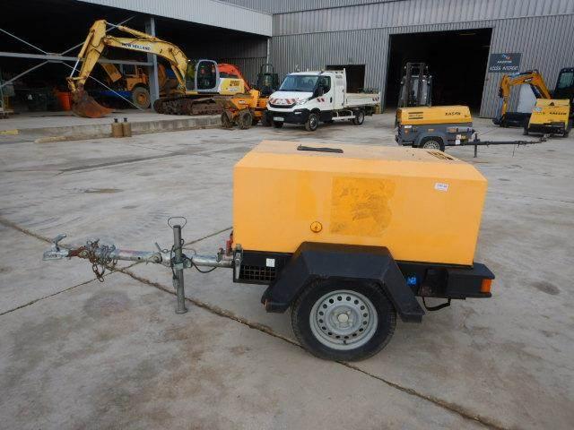 Doosan 7/20, Compressors, Construction Equipment