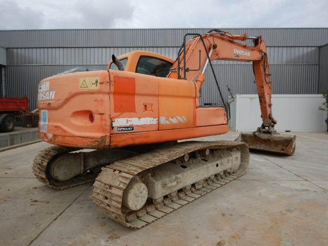 Doosan DX160 LC, Crawler Excavators, Construction Equipment