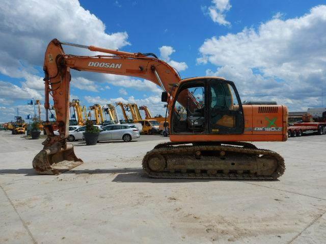Doosan DX180 LC, Crawler Excavators, Construction Equipment