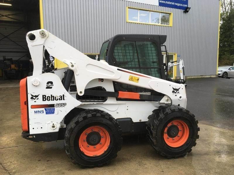 Bobcat S 850, Mini Loader, Construction Equipment