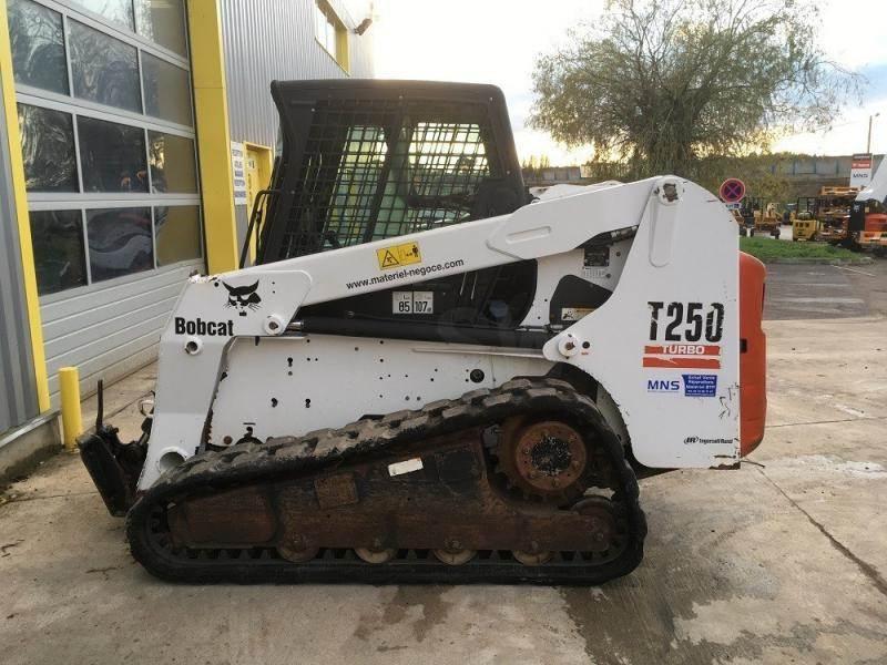 Bobcat T 250 ACS, Mini Loader, Construction Equipment