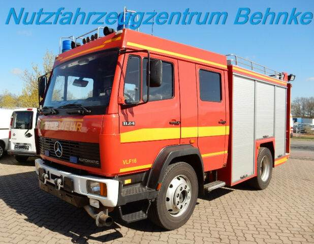 Used mercedes benz 1124 f vlf 16 s metz automatik other for Mercedes benz f cell price