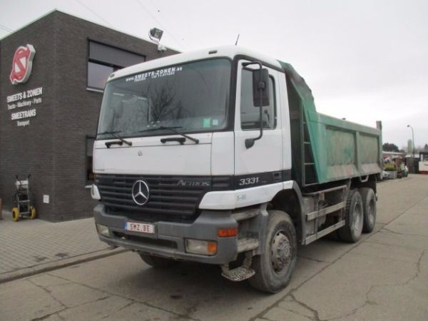 Used mercedes benz actros 3331 ak dump trucks year 1998 for Mercedes benz f cell price