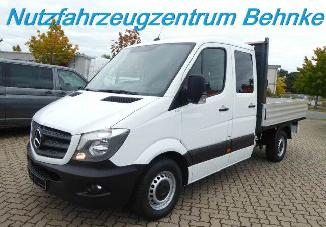 Mercedes-Benz Sprinter 314 CDI Doka Pritsche/ Klima/ AHK/ E6, Pick up/Dropside, Transportation