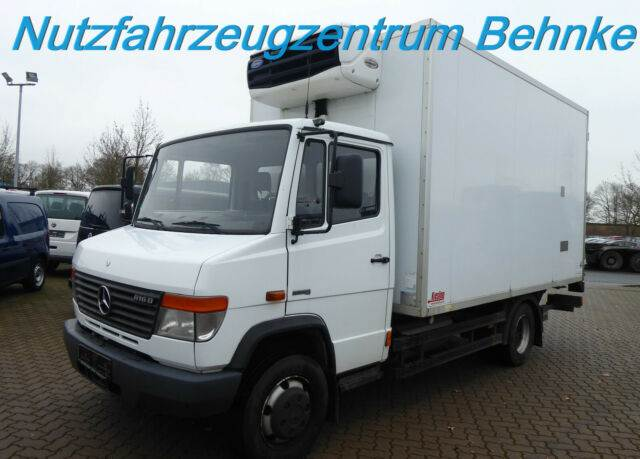 Mercedes-Benz Vario 816 D Kühlkoffer LBW seitl.Tür T-Schreiber, Temperature controlled, Transportation