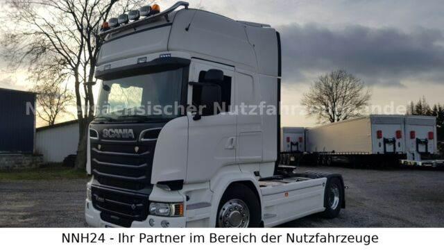 Scania R520 V8 TOP ZUSTAND! VOLL! Mehrfach vorhanden!, Sattelzugmaschinen, LKW/Transport