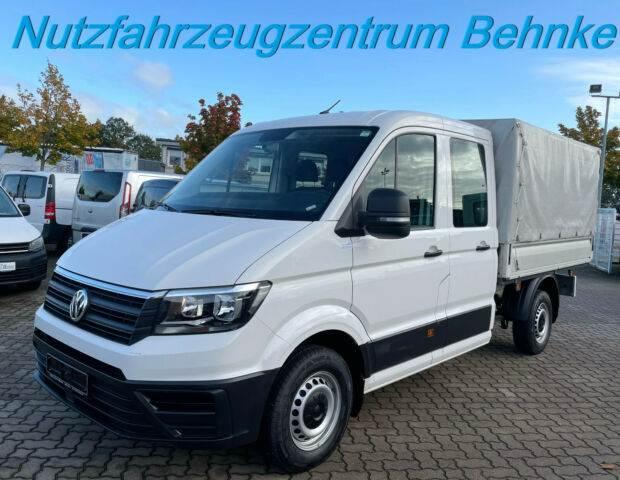 Volkswagen Crafter DOKA L2 Pritsche+Plane/ Klima/ AHK 3.0t, Pritsche & Plane, LKW/Transport