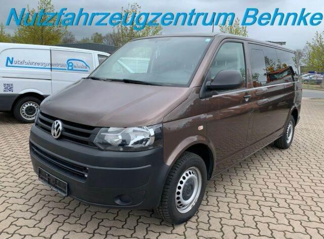 Volkswagen T5 2.0 TDI KB Lang/ 9 Sitze 3+3+3/ 2xKlima/ AHK, Minibusse, LKW/Transport