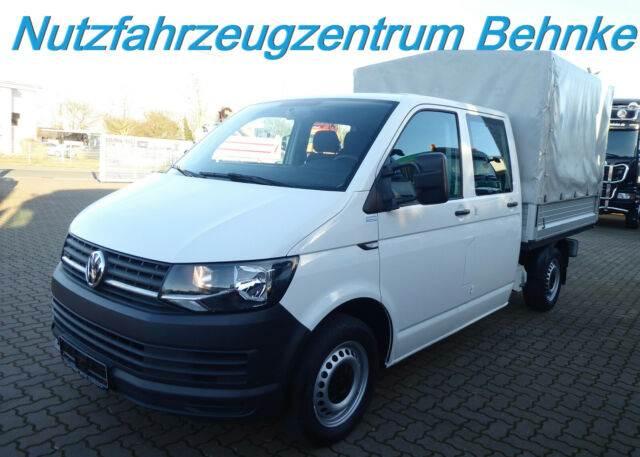 Volkswagen T6 Pritsche Doka 4Motion 103 kw Klima Standhzg., Pritsche & Plane, LKW/Transport