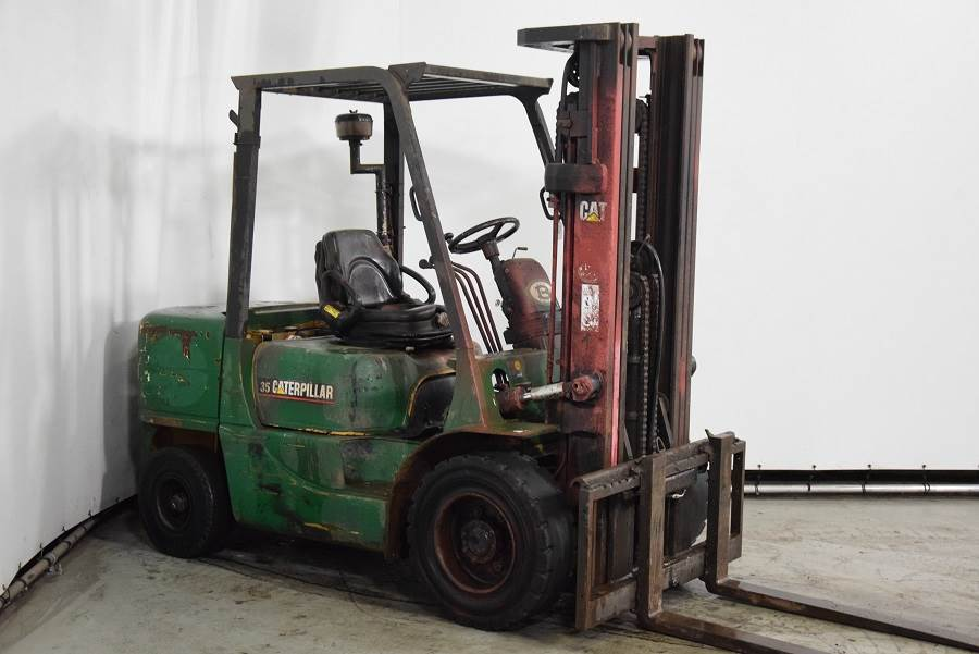Caterpillar DP35K, Diesel forklifts, Material Handling