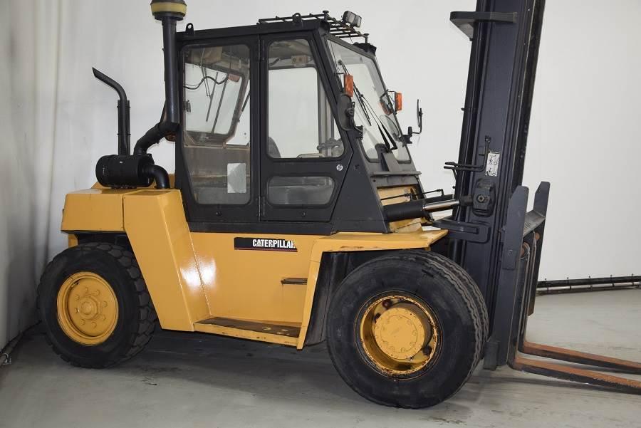 Caterpillar DP80, Diesel forklifts, Material Handling