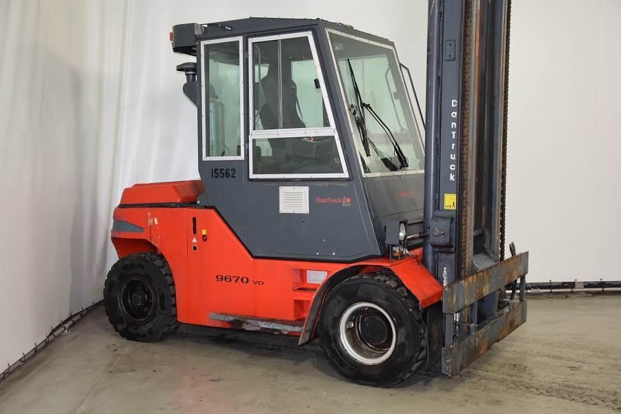 Dantruck 9670DD, Diesel forklifts, Material Handling