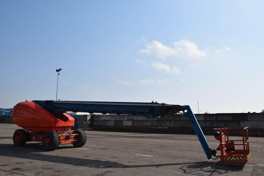 Grove T86J, Telescopic boom lifts, Construction