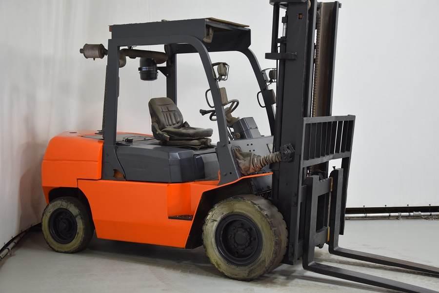 Hangcha CPCD50, Diesel forklifts, Material Handling