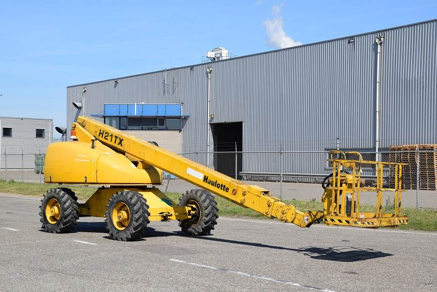 Haulotte H21TX, Telescopic boom lifts, Construction