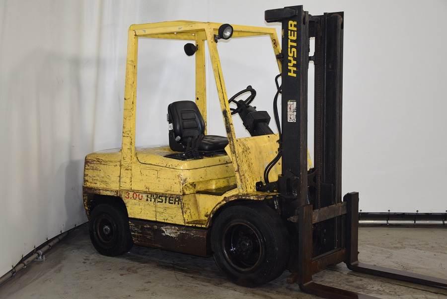 Hyster H3.00XM, Diesel forklifts, Material Handling