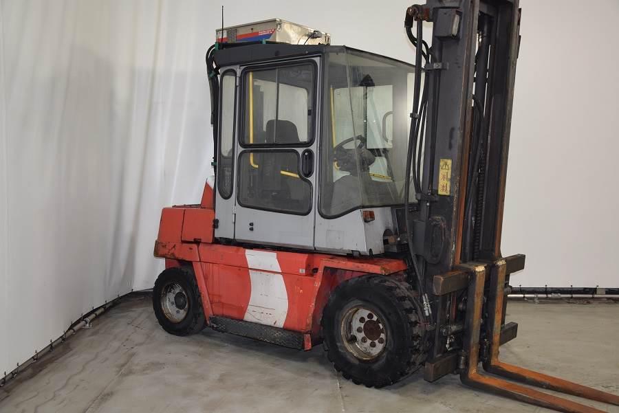 Kalmar DCD55-6, Diesel forklifts, Material Handling