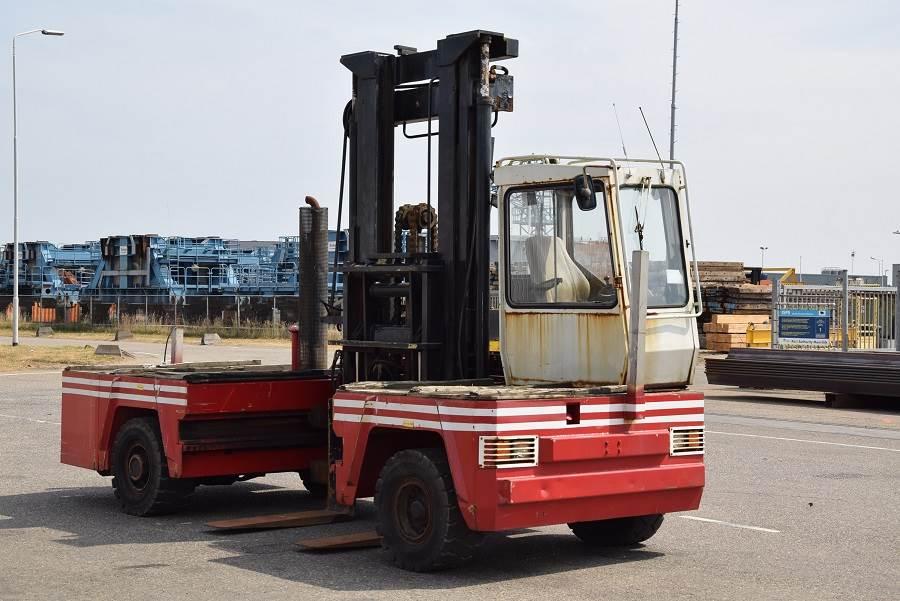 Kalmar DFQ80/14/45D, Sideloaders, Material Handling