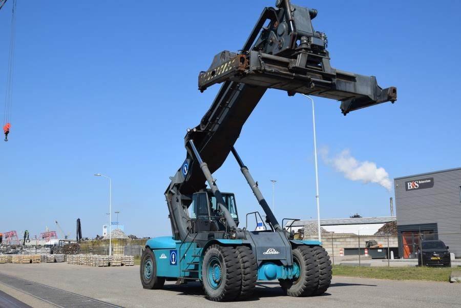 Linde C4535TL5, Reachstackers, Material Handling