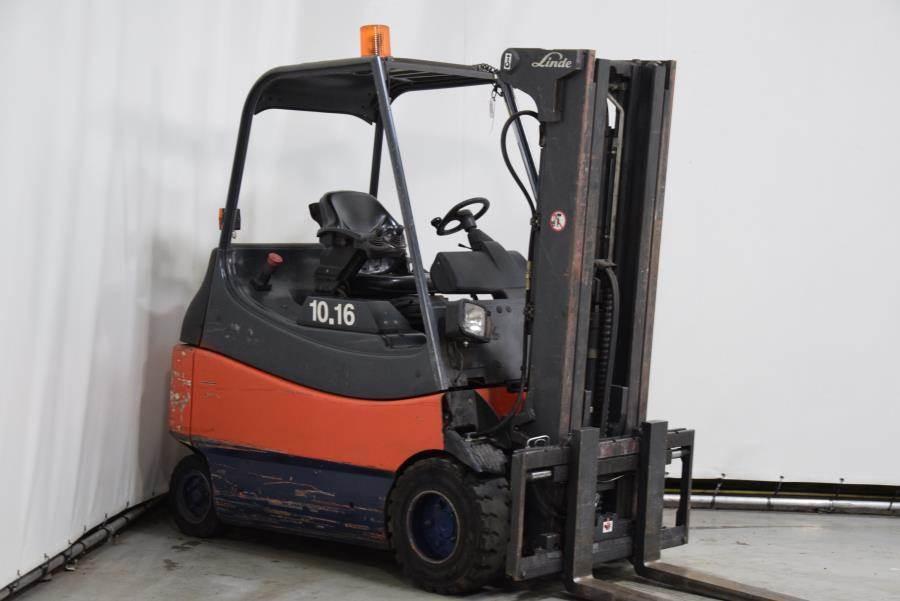 Linde E30/600-02, Electric forklifts, Material Handling