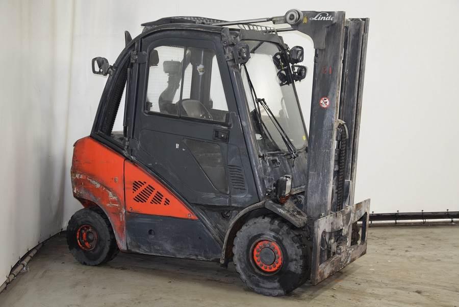 Linde H30D-01, Diesel forklifts, Material Handling