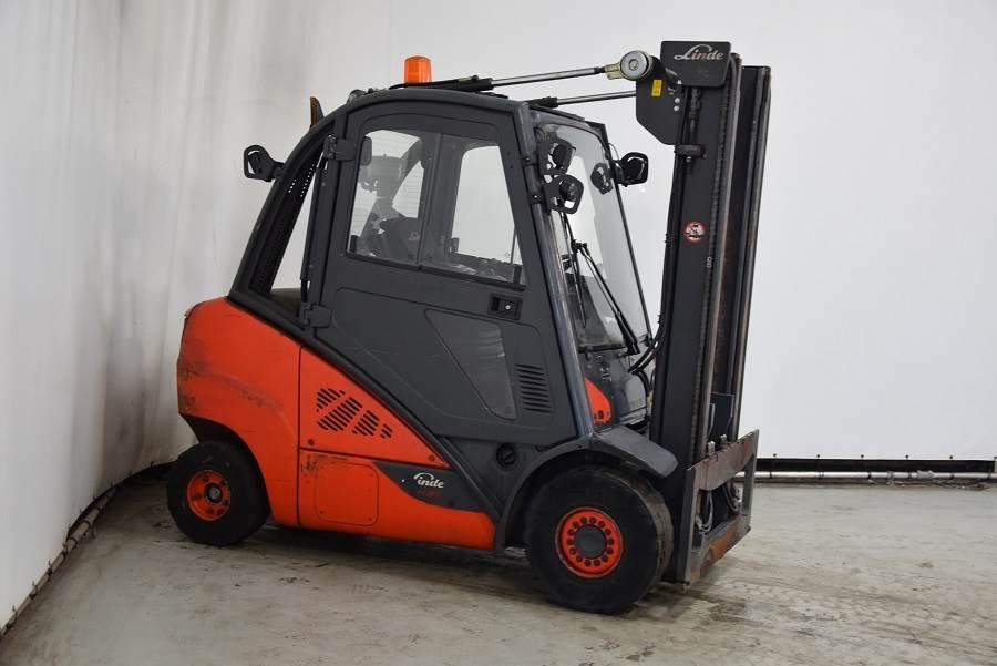 Linde H35D-02, Diesel forklifts, Material Handling