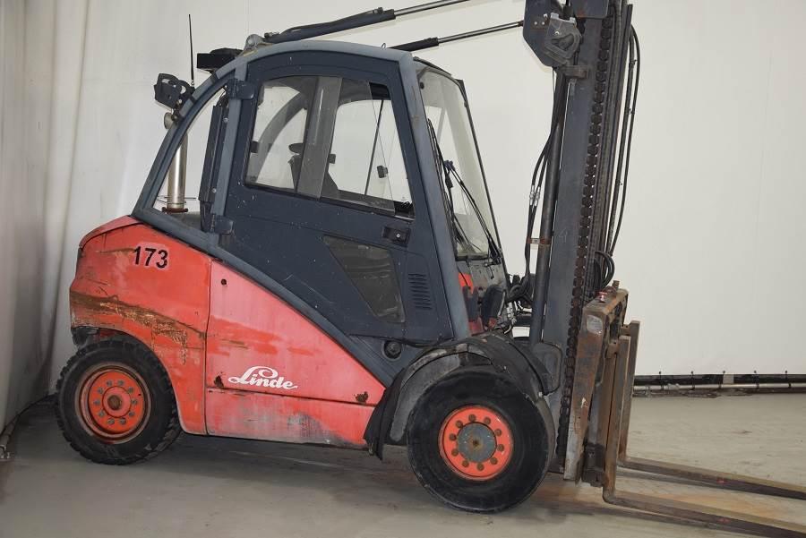 Linde H50D, Diesel forklifts, Material Handling