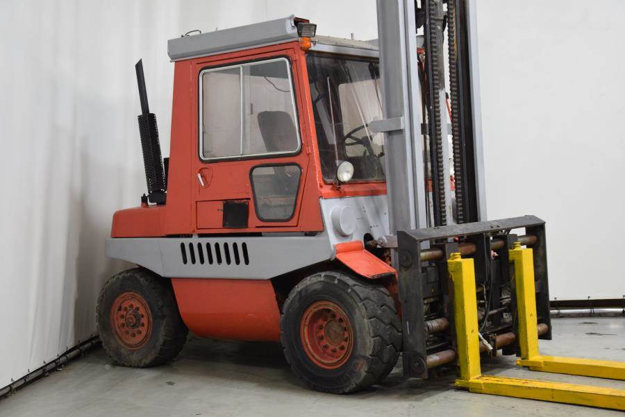 Linde H60D, Diesel forklifts, Material Handling