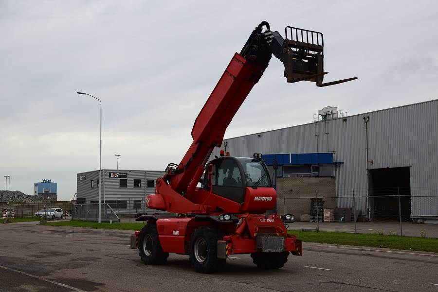 Manitou MRT2150 Privilege, Telescopic handlers, Construction