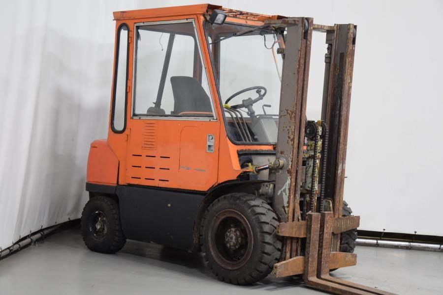 Mitsubishi FD25, Diesel forklifts, Material Handling