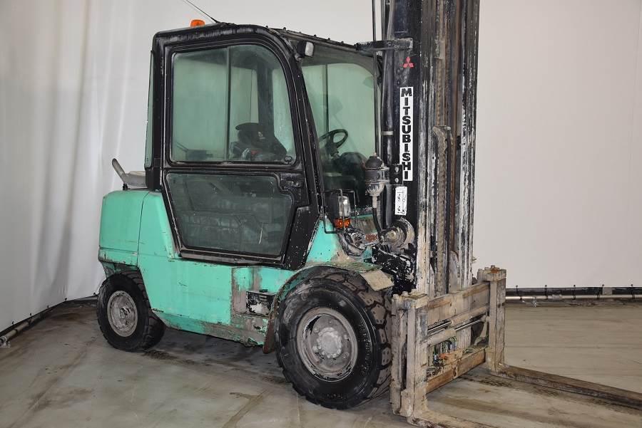 Mitsubishi FD45K2, Diesel forklifts, Material Handling