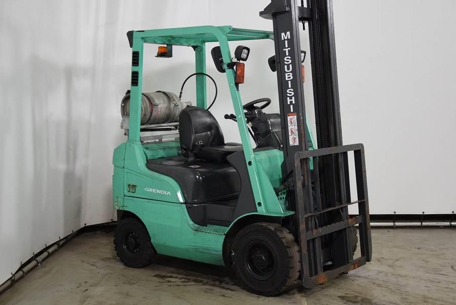 Mitsubishi FG15NT, LPG forklifts, Material Handling