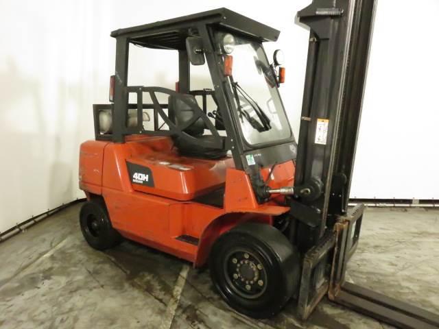 Nissan F04B40HQ, LPG forklifts, Material Handling