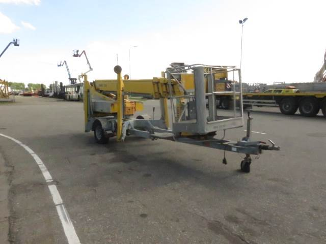 Omme 1650EBZ, Trailer mounted aerial platforms, Construction