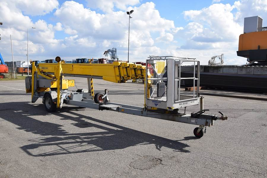 Omme 2900EBZ, Trailer mounted aerial platforms, Construction