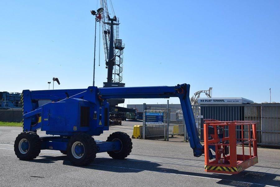 Snorkel AB60JRTCU, Articulated boom lifts, Construction