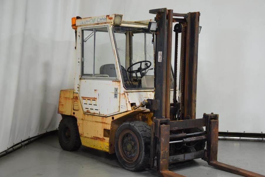 TCM FD30Z7T, Diesel forklifts, Material Handling