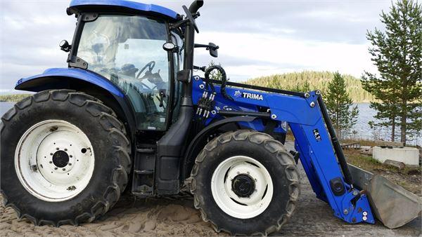 New Holland T6 140 ECDL, Traktorit, Maatalous