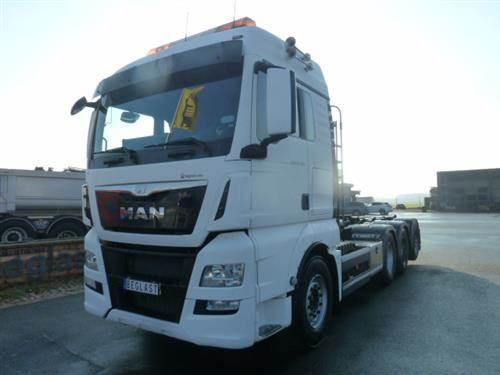 MAN TGX 35.480, Lastväxlare/Krokbilar, Transportfordon