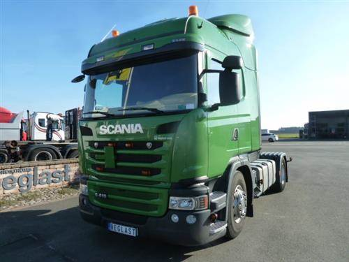 Scania G 410, Dragbilar, Transportfordon