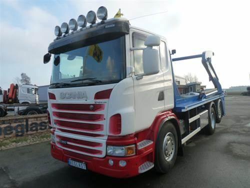 Scania G360, Chassier, Transportfordon