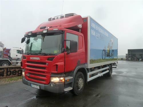 Scania P230, Skåpbilar Kyl/Frys/Värme, Transportfordon