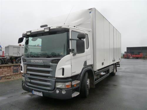 Scania P230, Skåpbilar, Transportfordon