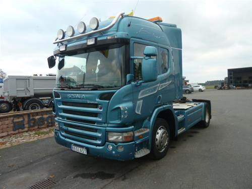 Scania P280, Dragbilar, Transportfordon
