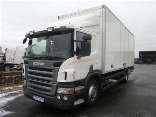 Scania P360, Skåpbilar, Transportfordon