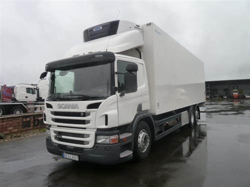 Scania P410, Skåpbilar Kyl/Frys/Värme, Transportfordon