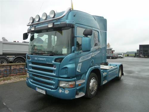 Scania P420, Dragbilar, Transportfordon