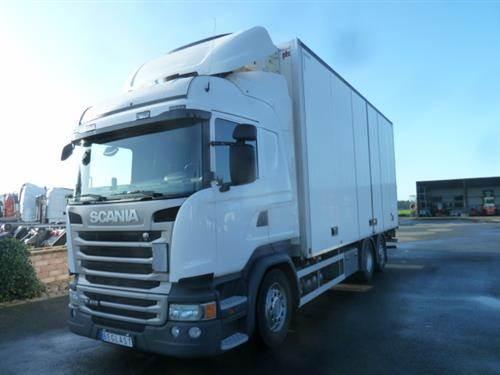 Scania R410, Skåpbilar Kyl/Frys/Värme, Transportfordon